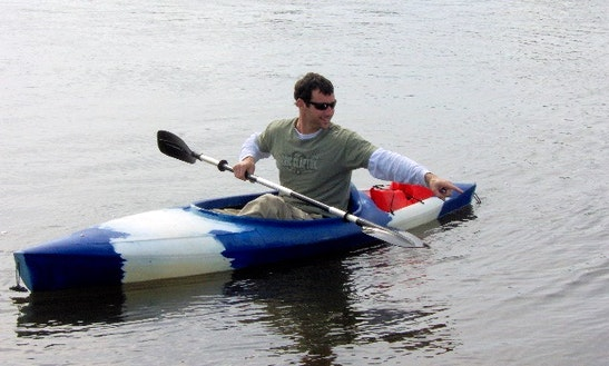 8'-10' One Person Kayak Rentals In Palm Bay, Florida
