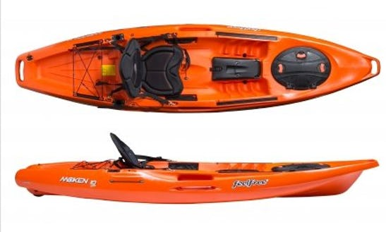 10'-15' Fishing Kayak Rentals In Palm Bay, Florida
