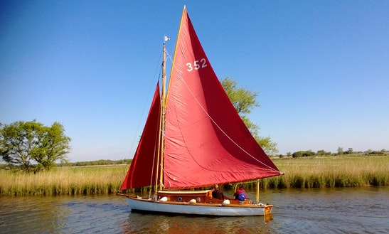 Hire This 24' Clipper Boat In Martham