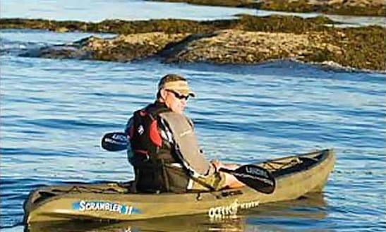 Ready To Ride Ocean Kayaks For Rent In San Rafael, California