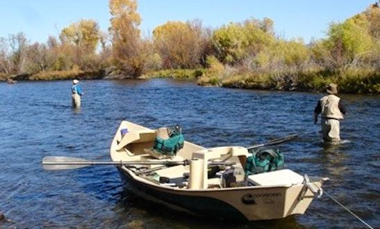 Fly Fishing Drift Boat In Bozeman