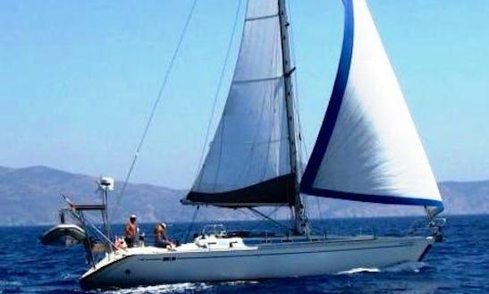 43′ Cruising Monohull Charter In Panamá, Panama