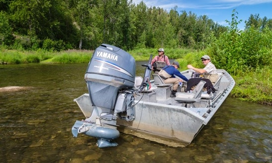 Sport Fisherman Rental On Yentna River And Lake Creek