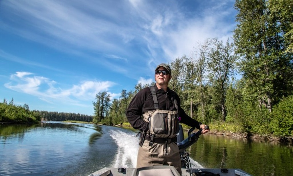 Sport fisherman rental on yentna river and lake creek for Anchorage fishing charters
