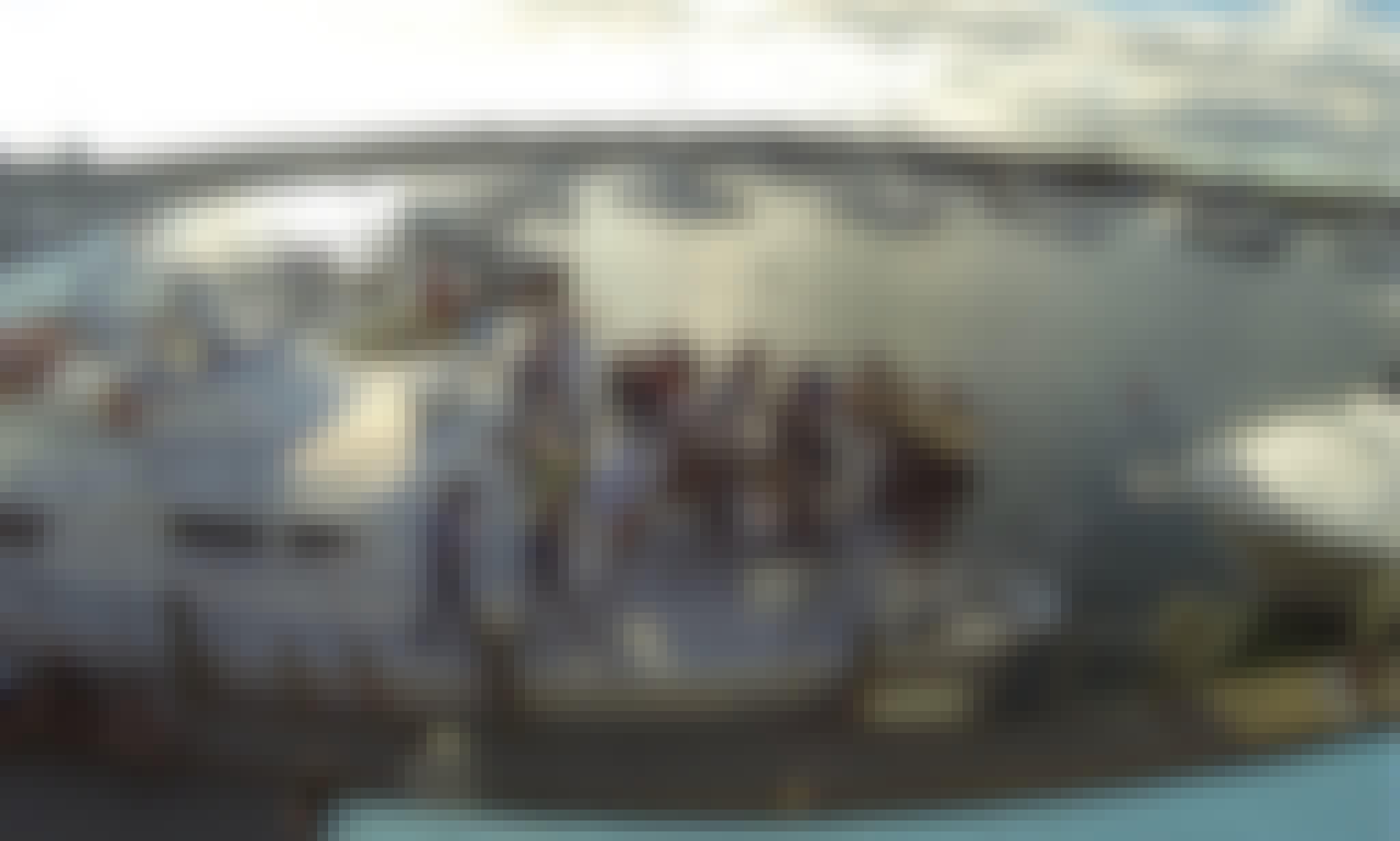 """63ft """"Bay Spirit"""" Cooper Motor Catamaran Charter in Hyannis, Massachusetts"""