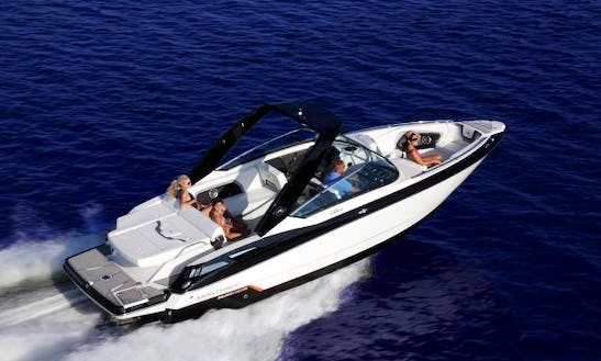 Have A Fantastic Vacation Time With Monterey 298ss Rental In Ibiza For 8 People