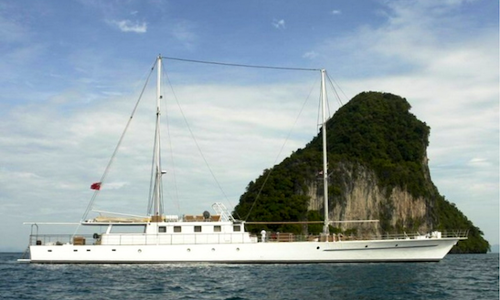 Enjoy Luxury 165' Sailing Yacht Charter In Pattaya, Chon Buri