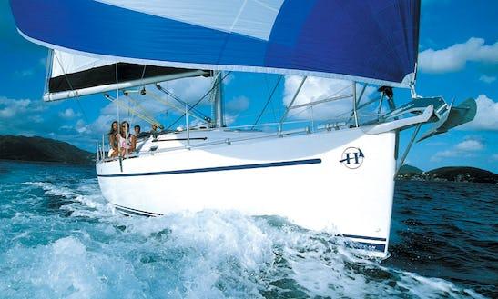 Harmony 38 Sailing Yacht Charter In Ajaccio