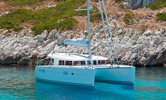 40' Lagoon Catamaran Charter In Ajaccio