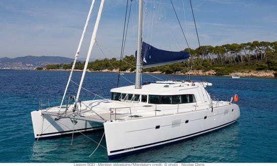 Captained Lagoon 500 Sailing Charter