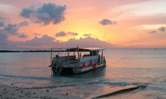 """Private Boat Cruise on 40ft """"Mellisa II"""" Boat in Barbados"""