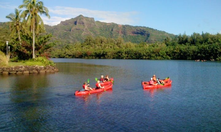 Kayak Rental in Kapaa, Hawaii