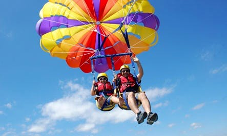 Sea Parachute for 15 minutes In Eilat