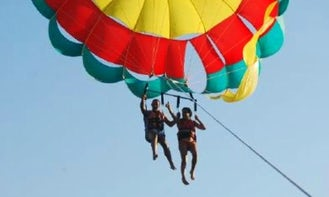Guided trip with parachute + Jet Kayak  in Eilat