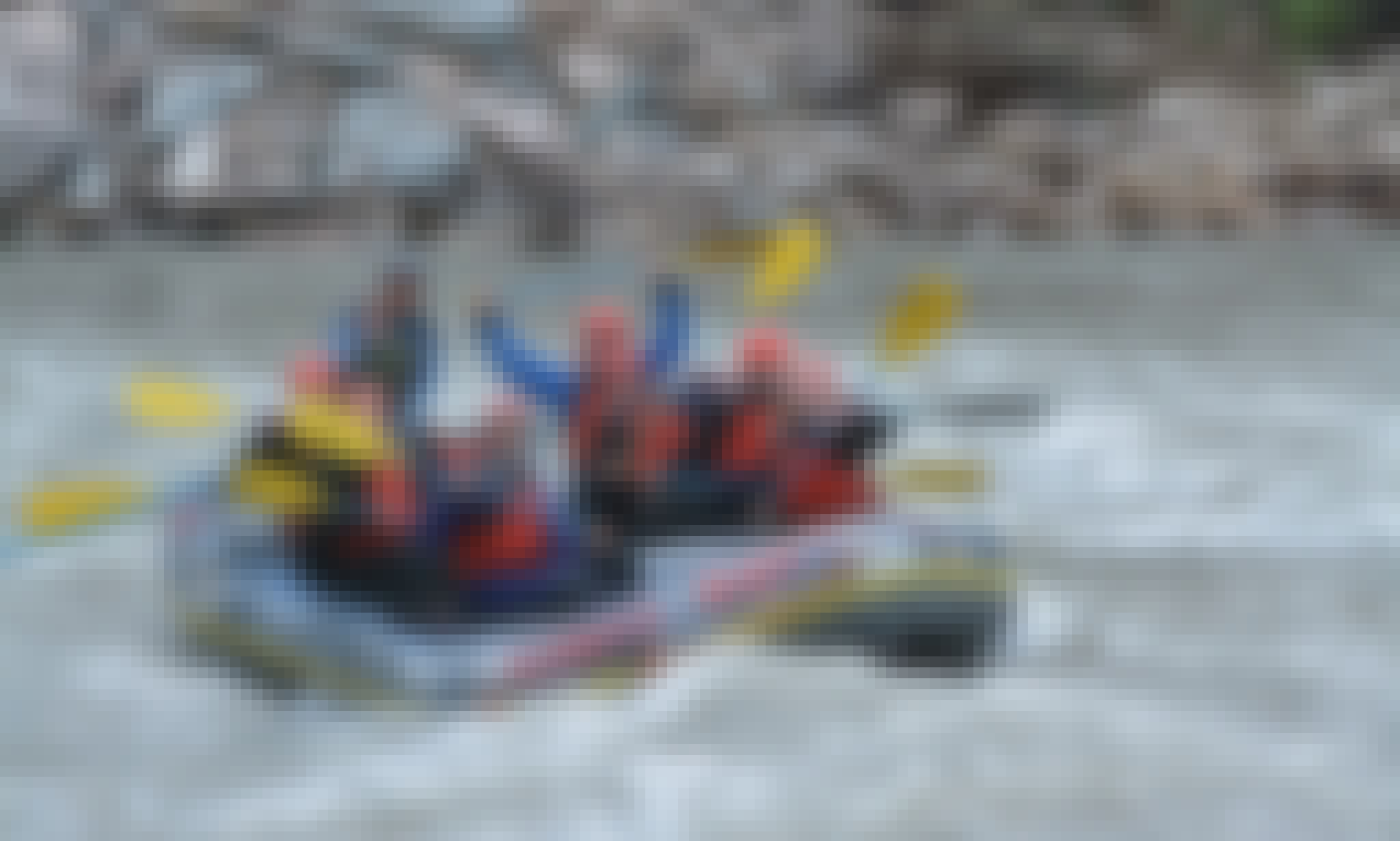 Whitewater Rafting Adventure on the Nenana River in Denali National Park