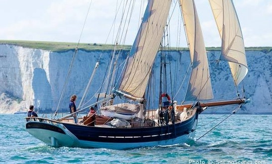 Pilot Cutter Amelie Rose Sailing Yacht In Uk