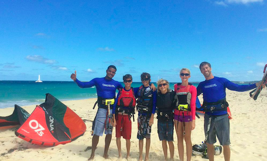 Kitesurfing & Paddleboard Kids Camp In Anguilla