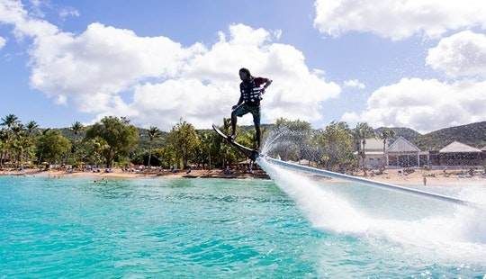 Flyboarding In Guadeloupe