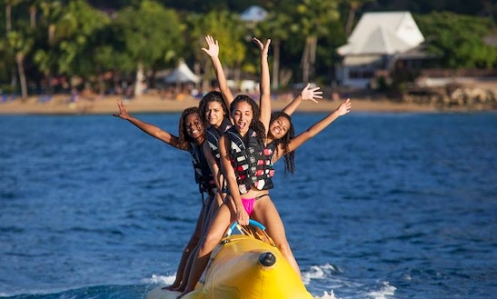 Banana Boat Rides In Guadeloupe
