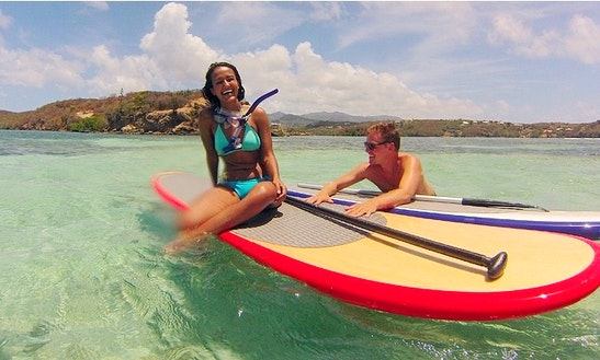 Stand Up Paddleboard Lesson In Grenada