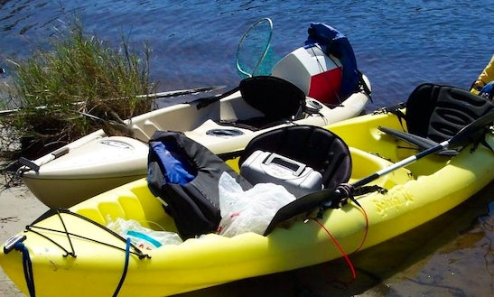 Kayak Guided Fishing In Daytona Beach