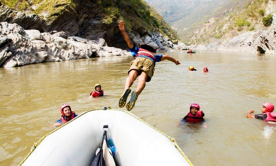 Half Day Rafting Trip  In Rishikesh