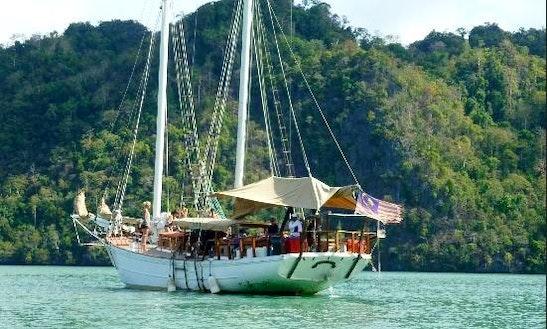 Charter 69' Schooner Cruise Yacht  In Malaysia