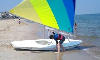 Enjoy Virginia Beach, Virginia On 'Sunfish' Sailboat