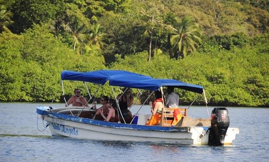 South Caribbean Island Tour Boat