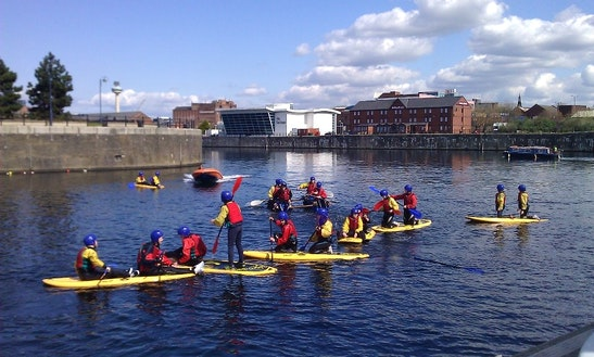 Stand Up Paddleboard For Hire In Liverpool