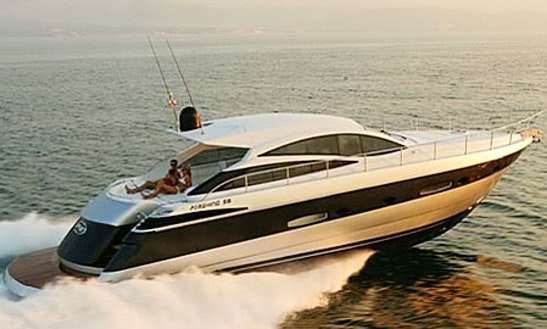 Pershing 56 Luxury Yacht Rental In France
