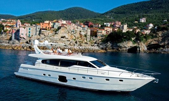 Ferretti 620 Yacht Rental In France