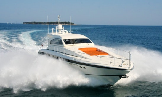 Rent This Leopard 23 Yacht In France