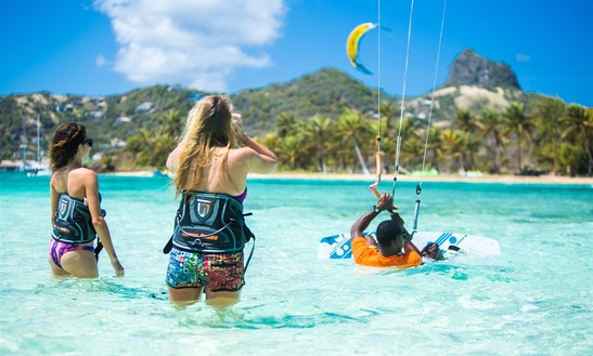 Kite Surfing In The Caribbean