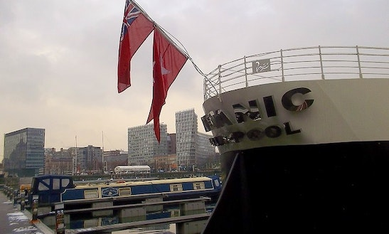 'titanic Hotel' Luxury Boat Charter In Liverpool