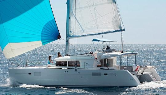 Lagoon 450 Catamaran Charter In Le Marin