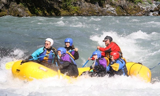 Whitewater Rafting On The Kenai River & Russian River