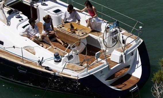 Charter Sun Odyssey 49 DS Yacht in Greece