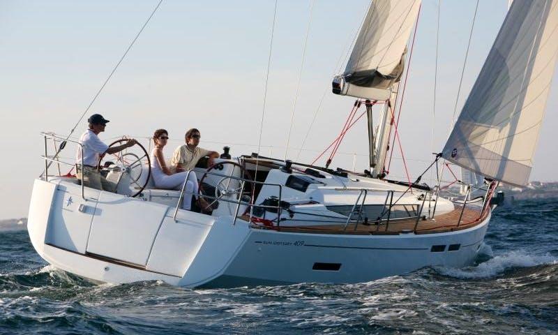 Sun Odyssey 409 Yacht Charter in Greece