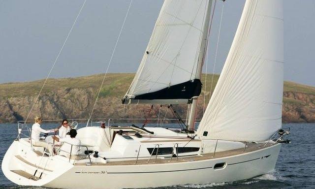 Sun Odyssey 36i Yacht Charter in Greece