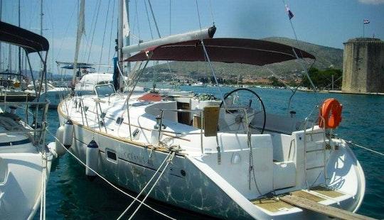 Charter Oceanis 411 Catamaran In Greece