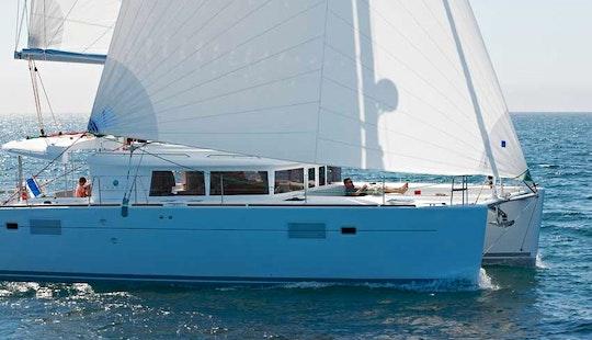 Bareboat Charter Lagoon 450 Cat In Greece