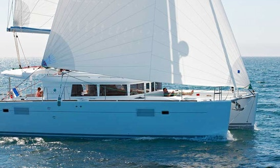 Bareboat Charter Lagoon 450 Cat In Greece