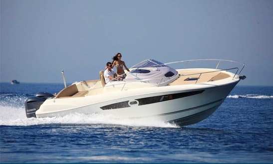 Luxury Cruise In Spain On ''jeanneau Cap Camarat 8.5 Wa'' Rental In Palamós