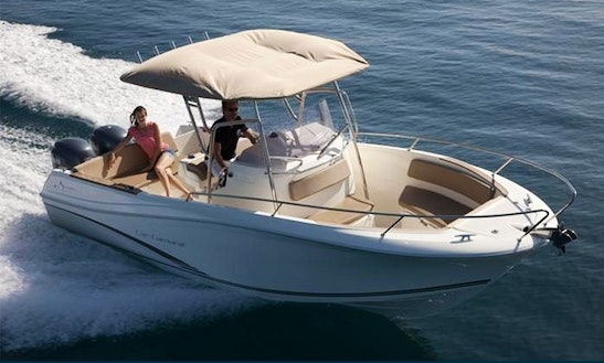 Rent A Cap Camarat 7.5 Open Style Motor Boat In Palamós, Spain