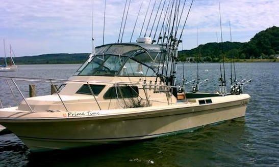 4 Hour Fishing Charter In Traverse City