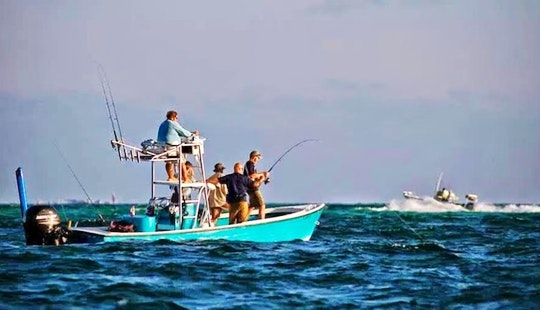 Tampa Fishing Charter On 23ft Center Console With Captain Jim