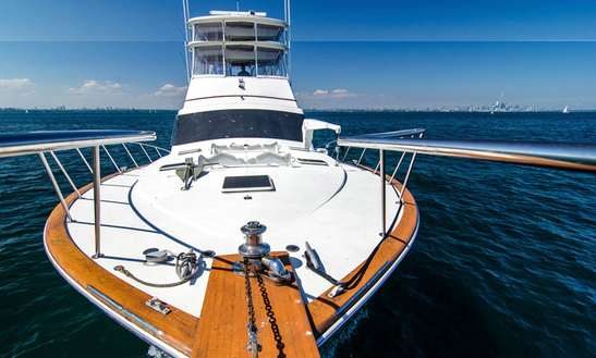 """Charter 61' Ocean """"unreel"""" Yacht In Mississauga"""