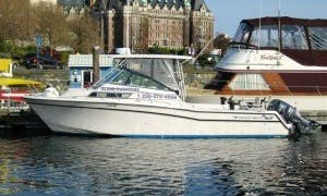30' Sport Fisherman Charter in Victoria, Canada