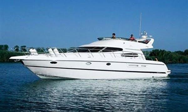 Charter the 50ft Cranchi Atlantique Flybridge Motor Yacht in Montenegro